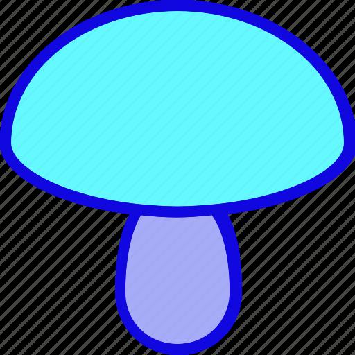Cook, cooking, food, meal, mushroom, vegetable, vegetarian icon - Download on Iconfinder