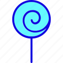 candy, confectionery, dessert, lollipop, sugar, sweet, sweets icon