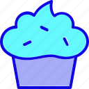 bakery, bread, breakfast, cake, cup cake, dessert, sweets icon