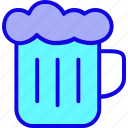 bar, beer, beverage, glass, mug, party, pub icon