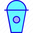 beverage, bottle, container, cup, drinkware, glass, glass juice icon