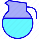 appliance, beverage, cooking, drink, kettle, teapot, water icon