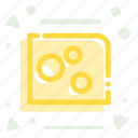 appetizer, breakfast, cheese, dairy, luch, snack icon