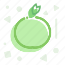 apple, diet, fruit, nutrition, ration icon