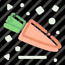 carrot, garden, greens, ingredient, veggies icon