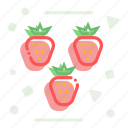 berries, berry, joy, small fruit, strawberry icon