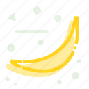 banana, fruit, healthy, meal, vitamin icon