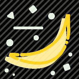 banana, eat, fruit, healthy, meal, vitamin icon