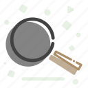 cooking, eating, fry, frying, pan icon