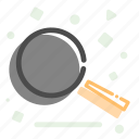 cooking, fry, pan, wok icon