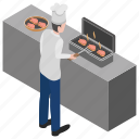 barbeque, cookout, fresh barbeque, grill food, outdoor cooking icon