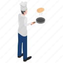 chef cooking, cuisiner, culinary artist, professional chef, restaurant chef icon
