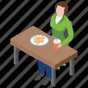 drinks and burger, fast food restaurant, junk food, restaurant food, unhealthy food icon