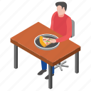 fast food, pizza corner, pizza restaurant, pizza slice, restaurant food icon