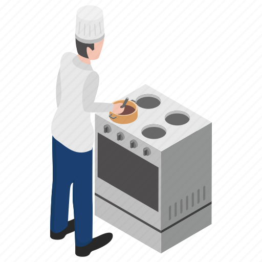 cooking kiosk, cooking stove, food court, gas stove, kitchen appliance icon