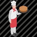 baker, chef, cook, dough puncher, pastry maker