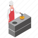 egg beater, egg beating, egg beating machine, food making, professional chef icon