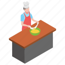 food court, food making, food preparation, professional chef, restaurant food icon