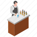 bar, brew, corner, drink, stall, wine icon