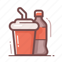 cola, drinks icon