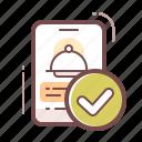 app, online, restaurant icon