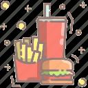 burger, fastfood, meal, eat, food, restaurant, junk