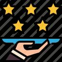 star, rating, achievement, favorite, award, review, winner