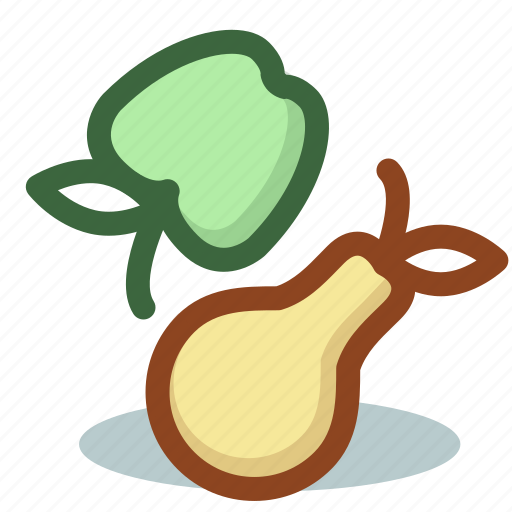apple, breakfast, cooking, food, fruit, pear icon