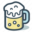 alcohol, bar, beer, drink, mug icon