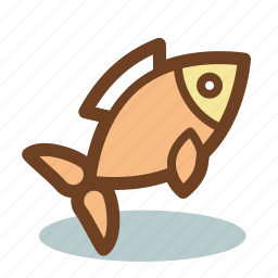 fish, food, meat, seafood icon