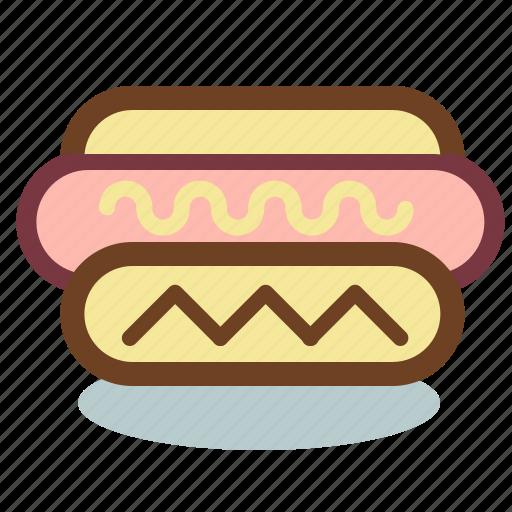 dog, fast, food, frankfurter, hot icon