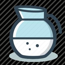 jug, jugful, measuring, milk icon