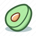 fruit, mango icon