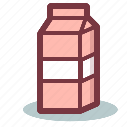 breakfast, drink, milk icon