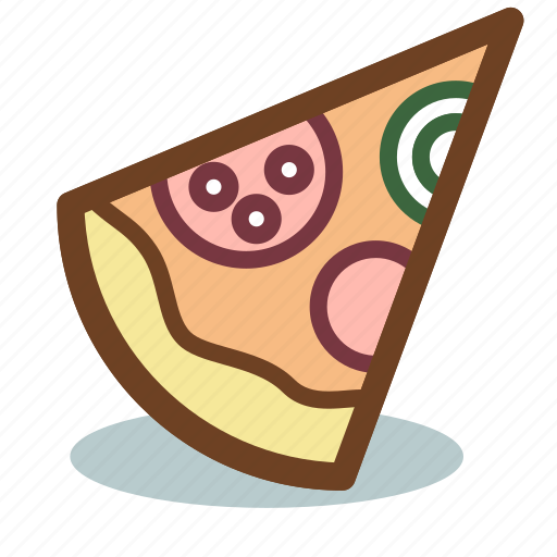 food, italian, pizza, restaurant, slice icon