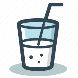 drink, glass, soda, soft icon