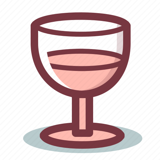 alcohol, drink, glass, wine icon