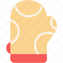 baking, cooking, gloves, kitchen oven icon