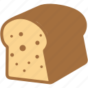 bread, breakfast, eating, food icon