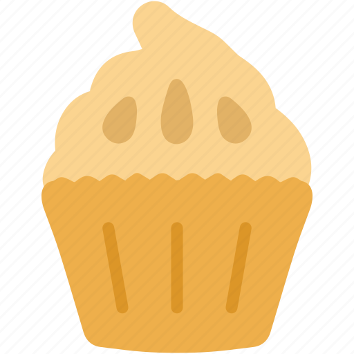 cupcake, dessert, food, pastry, sweet icon
