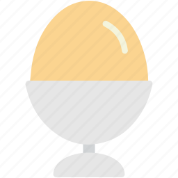 chicken, cup, egg, food, holder icon
