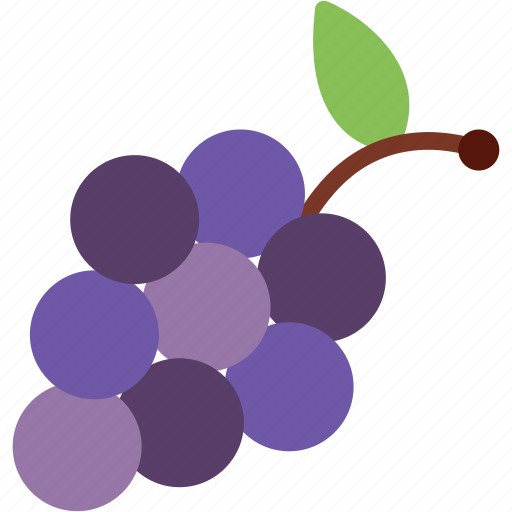 Grapes, food, fruit, wine icon - Download on Iconfinder