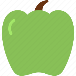 food, green, health, pepper, vegetable icon