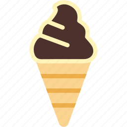 cone, cream, dessert, food, ice, icecream, sweet icon