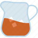 jar, jug, juice, milk, water icon