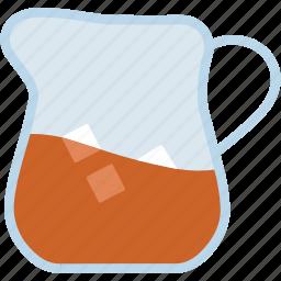 jar, jug, juice, milk, water icon