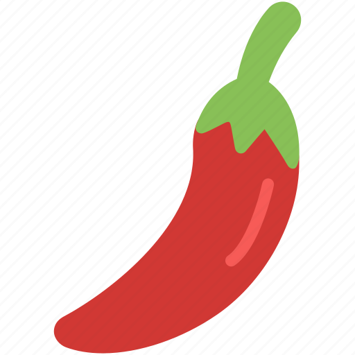 chili, green, pepper, red, vegetable icon