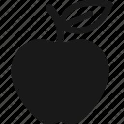 apple, food, fruit, nutrition icon