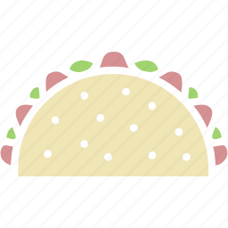 taco, tacos, tortilla icon