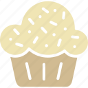 bakery, cupcake, muffin, pastry icon